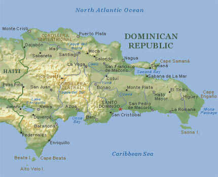 Mapa de R.D.